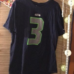 NIKE/Seahawks T-shirt/ RUSSELL WILSON/ new/ xl men